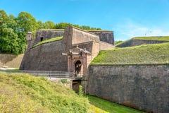 Port till den Belfort citadellen Fotografering för Bildbyråer