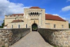Port till Leeds Castle arkivbilder