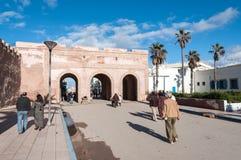 Port till medinaen av Essaouira Royaltyfri Bild