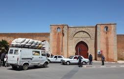 Port till medinaen av Rabat Arkivfoto