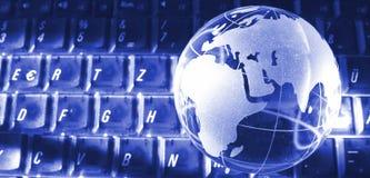 port till världen arkivfoto