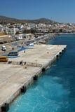 Port of Tinos Island, Cyclades Islands. Greece Stock Photo