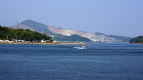 Port of Toba, Mie prefecture  in Japan Royalty Free Stock Photos