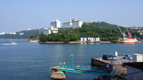 Port of Toba, Mie prefecture  in Japan Royalty Free Stock Images