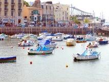 Port, Toquay, Devon. Photo stock