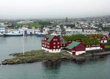 Port of Tornshavn Royalty Free Stock Photo