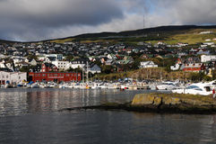 Port of torshavn Royalty Free Stock Photography