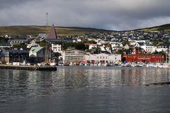 Port of torshavn Stock Images