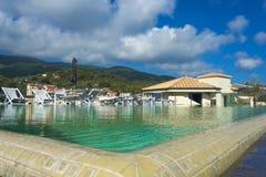 Port (toscany) Hercule, Royaltyfria Foton