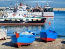 Port touristique de Monopoli. Apulia. Photographie stock libre de droits