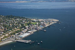 Port Townsend Olympic Peninsula Royaltyfri Fotografi
