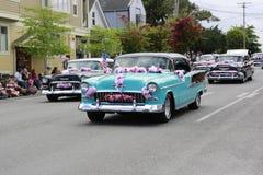 Port Townsend, WA - 17 mai 2014 : Défilé de festival de rhododendron Images stock