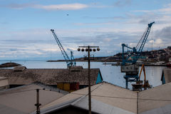 Port in Trabzon Stock Image