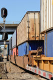 Port Train Stock Photos