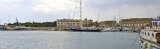 Port Trani Obraz Stock