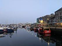 Port tranquille Photo libre de droits