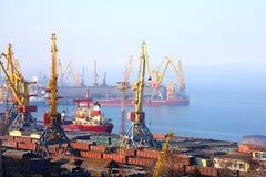 port transportowy obraz royalty free