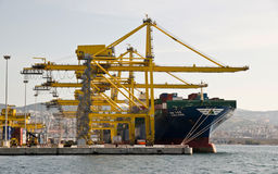 Port of Trieste Royalty Free Stock Photography