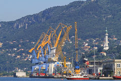 Port of Trieste Stock Image