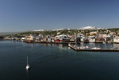 Port of Tromso Stock Photos