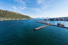 Port of Tromso, Norway Royalty Free Stock Photos