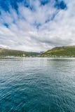 Port Tromso, Norwegia Zdjęcie Stock