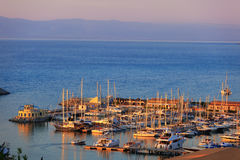 Port in Tropea Royalty Free Stock Photo