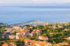 Port Tropea Fotografia Stock
