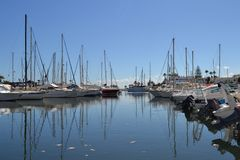 Port in Tunis Stock Photos
