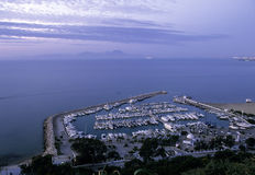 port tunisia Royaltyfria Foton