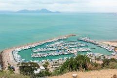 Port Tunisien Royaltyfri Bild