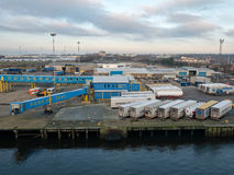 Port of Tyne, Newcastle, England Stock Photos