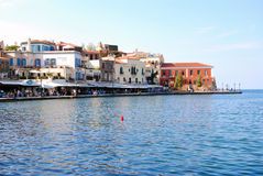 Port vénitien de la Grèce Photos libres de droits