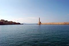 Port vénitien de la Grèce Image libre de droits