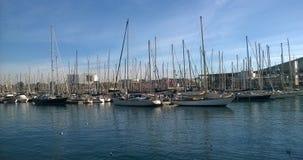 Port of Vaella of Barcelona Stock Photo