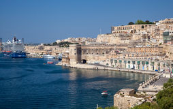 Port in Valletta, Malta Royalty Free Stock Images