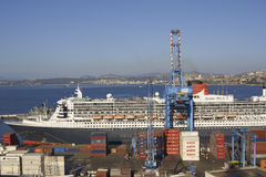 Port of Valparaiso, Chile. Royalty Free Stock Photo
