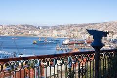 Port of Valparaiso Royalty Free Stock Photography