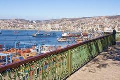 Port of Valparaiso Stock Image