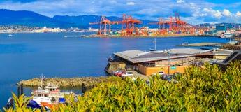 port vancouver Royaltyfri Foto