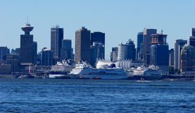 Port of Vancouver royalty free stock photography