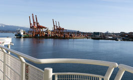 Port of Vancouver Royalty Free Stock Images