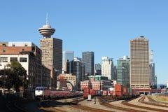Port Vancouver Rail Yard Stock Photography