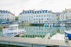 The port of Vannes Royalty Free Stock Image