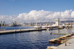 Port Varna Photos stock