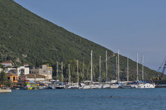 Port of Vasiliki, Lefkada, Ionian Islands Stock Images
