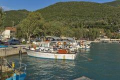 Port of Vasiliki, Lefkada, Ionian Islands Stock Photography