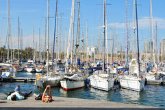 Port Vell Stock Photography