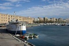 Port Vell a Barcellona Immagini Stock Libere da Diritti