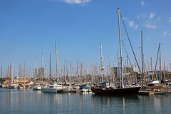 Port Vell - Barcelona Royalty Free Stock Images